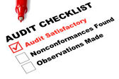 Audit Checklist — Stock Photo