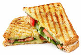 Grilled Panini — Stock Photo