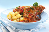 Lamb Shanks — Stock Photo