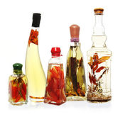 Infused Oils and Vinegars — Stock Photo