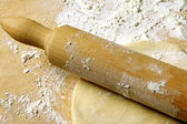 Rolling Pastry — Stock Photo