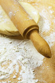 Rolling Dough — Stock Photo