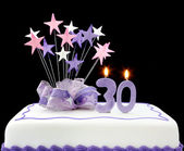 30th Cake — Stock Photo