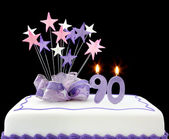 90th Cake — Stock Photo