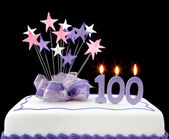 100th Cake — Stock Photo