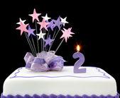 2nd Cake — Stock Photo