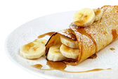Banana Pancake — Stock Photo