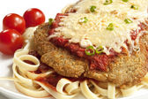 Chicken Parmesan — Stock Photo
