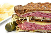 Reuben Sandwich — Stock Photo