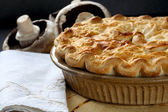 Tarte aux champignons — Photo