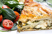Spinach Pie — Stockfoto