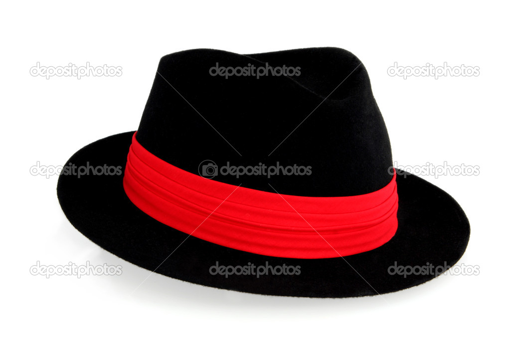 b55e4da95001e Shop Ferrecci Men s Red  Black Fedora Hat - Free Shipping