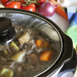 Crock Pot Cooking — Stock Photo