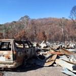 Fire Destruction — Stock Photo