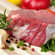Stock Photo: Fillet Steak