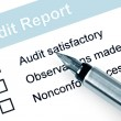 Stock Photo: Audit Report
