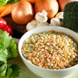 Ingredients for Vegetable Soup — Stock Photo