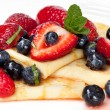 Berry Crepes — Stock Photo #5530971