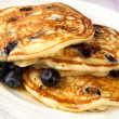Stock Photo: Buttermilk Blueberry Pancakes