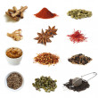 Spices Collection — Stock Photo