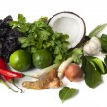 Thai Food Ingredients — Stock Photo