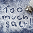 Foto Stock: Too Much Salt