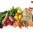 Stock Photo: Diabetes Superfoods