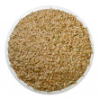 Brown Rice (with Path) - Stock Photo