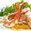 Prawn, Fennel and Orange Salad — Stock Photo