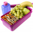 Nutritious Lunch Box - Stock Photo