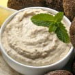 Hummus and Falafel - Foto de Stock