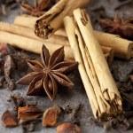 Cinnamon, Anise and Cloves — Stock Photo #5532917