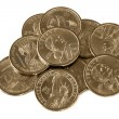 Dollar Coins - Stock Photo