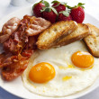Bacon and Eggs - Foto de Stock