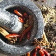 Stock Photo: Mortar and Pestle with Spices