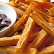 Sweet Potato Fries — Stock Photo