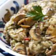 Mushroom Risotto — Stock Photo