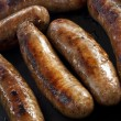 Cooking Sausages — Stock Photo