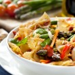 Pasta Primavera — Stock Photo