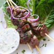 Lamb Kebabs — Stock Photo #5534245