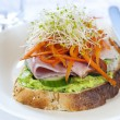 Stock Photo: Open Sandwich