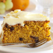 Carrot Cake — Stock Photo