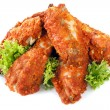 Spicy Chicken Wings — Stock Photo #5534483