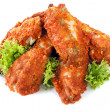 Spicy Chicken Wings - Stock Photo