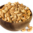 Bowl of Cashews — Stock Photo