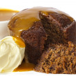 Sticky Date Pudding - Stock Photo