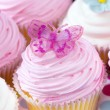 Stock Photo: Fancy Cupcakes