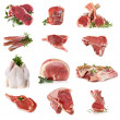 Cuts of Raw Meat — Stockfoto #5534795