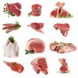 Cuts of Raw Meat - Stock Photo
