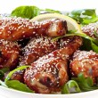 Royalty-Free Stock Photo: Sesame Chicken Drumsticks